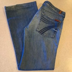 7 For All Mankind Jeans 31X32 Dojo Lexie Toluca!